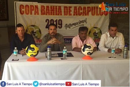 Presentaron la Edición 2019 de la Copa de Futbol Bahía Acapulco