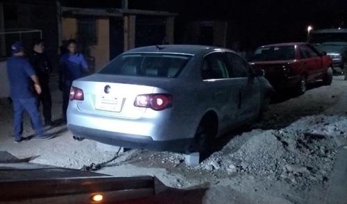 Al atender un auxilio ciudadano, se recupera vehículo con reporte de robo