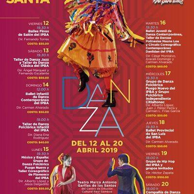 Listas las funciones de Danza de Semana Santa en el IPBA.