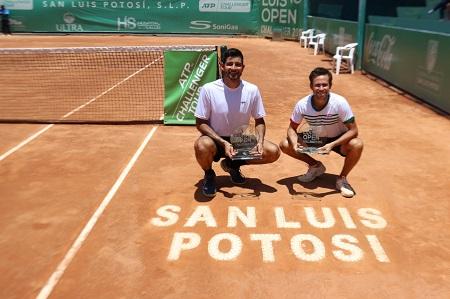 Arévalo-Reyes, se llevaron el dobles del San Luis Open Challenger 2019