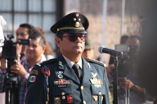 El General Guzmar González, asumió la comandancia de la 12ava Zona Militar