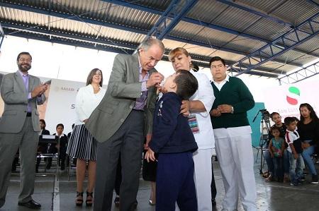 El Gobernador JM Carreras, dio inicio a la Segunda Semana Nacional de Salud 2019