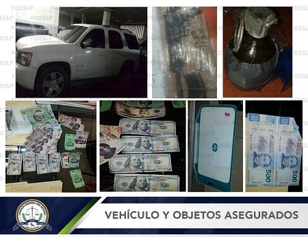 Capturan a tres presuntos integrantes de banda delictiva en San Lorenzo, S.G.S.