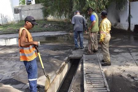 Atiende Ayuntamiento de Soledad, estragos de inundaciones de fin de semana