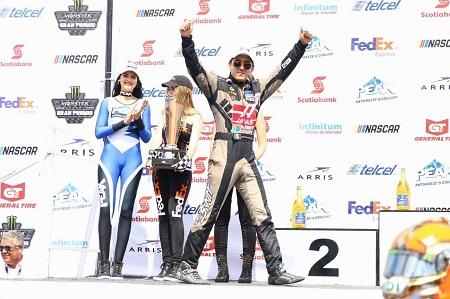 Víctor Barrales Jr. logra podio en Puebla en la categoría challenge