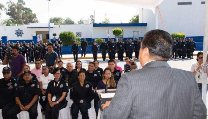 Confirma alcalde de Soledad, aumento salarial de 8% a policías municipales, retroactivo a enero