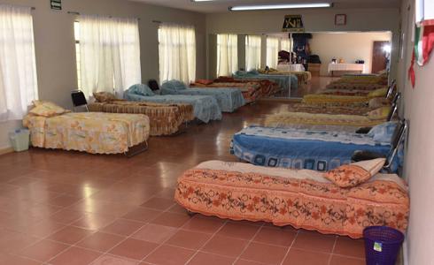 DIF Capitalino preparado para brindar refugio, a afectados por lluvias