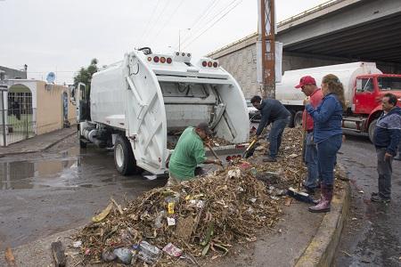 Servicios Municipales de Soledad, realiza limpieza preventiva por temporada de lluvias