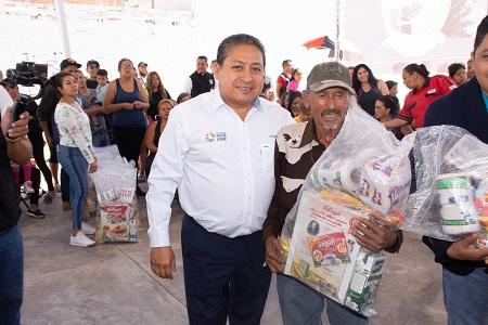 Programa de ayuda alimentaria, en beneficio de 30 mil familias de Soledad
