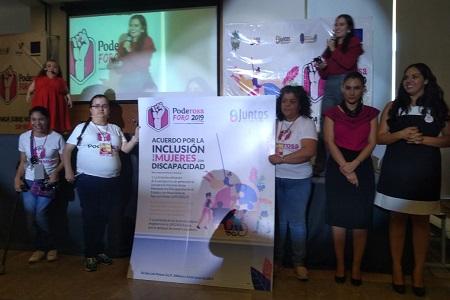 Se realizó el Foro PodeRosa 2019, que busca empoderar a mujeres con discapacidad