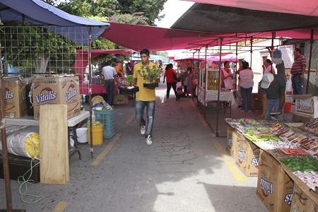 Comercio de Soledad, no ha autorizado la instalación de nuevos tianguis