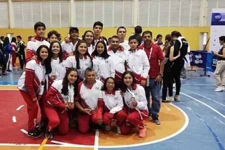 San Luis obtiene siete medallas y el tercer lugar en la Olimpiada Nacional de Squash