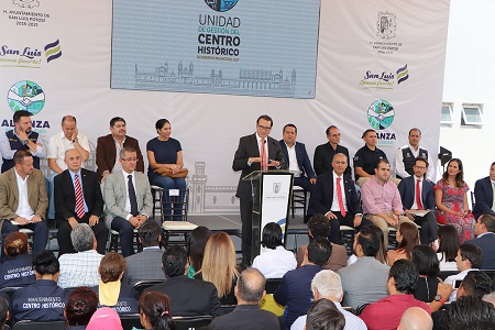 Presentan Unidad de Gestión del Centro Histórico, la encabezará Rocío Zavala
