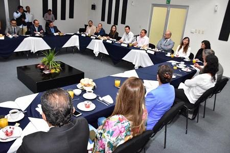 Alcalde de Soledad presenta ante el Colegio de Notarios, el nuevo Sistema Integral de Catastro