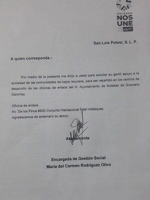 Ayuntamiento de Soledad, alerta por la presencia de falsa gestora en comunidades