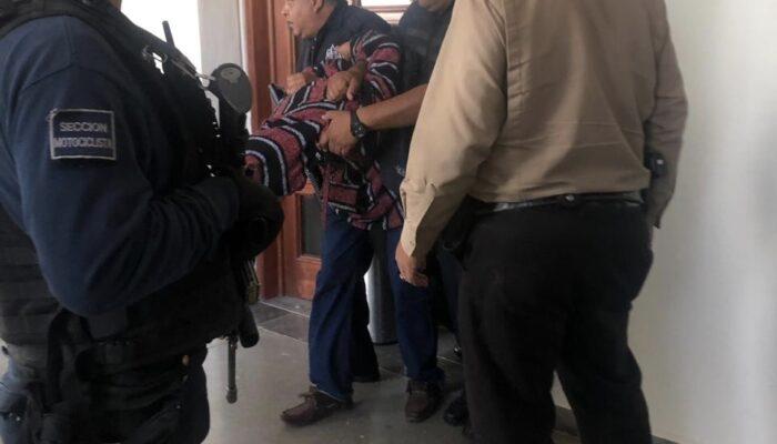 Sujeto balea a una mujer en juzgado de la Ciudad Judicial y genera movilización