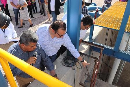 Gobierno Municipal reactivó operaciones de cárcamo de bombeo en Santa Rita