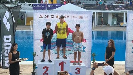 Brillante participación de nadadores potosinos en el Nacional Curso Largo