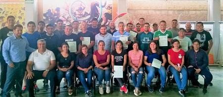 INPODE realiza cursos de capacitación del SICCED en Rioverde