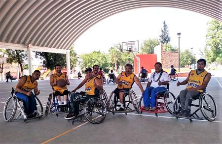 Indestructibles Santos de San Luis campeón del Torneo de Silla de Rueda de Basquetbol
