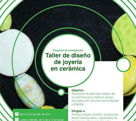 Ana Castelán impartirá taller Diseño de joyería en cerámica en el CEARTSLP