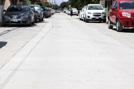 Entrega Gobierno Municipal obras de bacheo en Francisco I. Madero y El Paseo