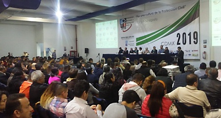 Participa Protección Civil Municipal en Congreso Nacional en CDMX