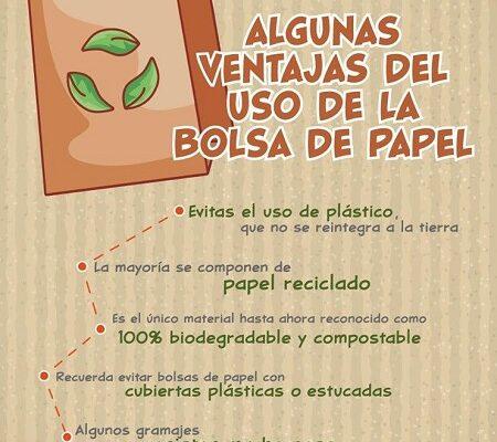 Recomienda SEGAM el uso de bolsa de papel ante la prohibición de plástico de un solo uso