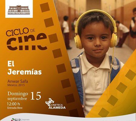 Cine, Mañana de Té y exposiciones en el Museo Francisco Cossío