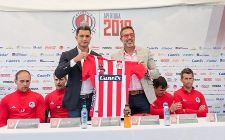 Atlético de San Luis presentó a su Director Técnico, Gustavo Matosas