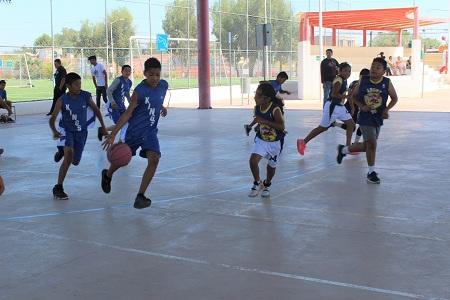 En la recta final en Torneo de Verano de la Liga Municipal de Baloncesto.