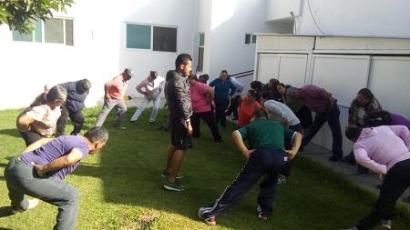 """La Dirección del Deporte Municipal de Soledad de GS apoya al programa del IMSS """"Pasos por la salud"""""""