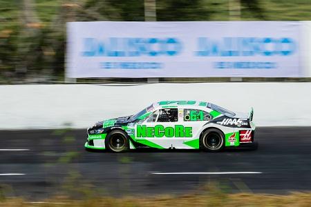 Ricardo Abarca Jr., previo a su participación en la siguiente fecha de NASCAR MÉXICO en Puebla.