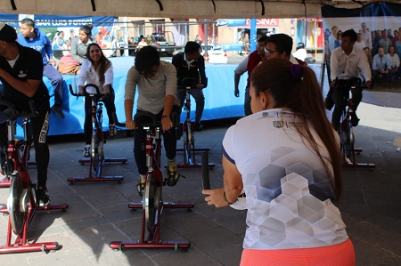 La Dirección de Deporte Municipal se sumó a la Feria de la Transparencia y Participación Ciudadana 2019.