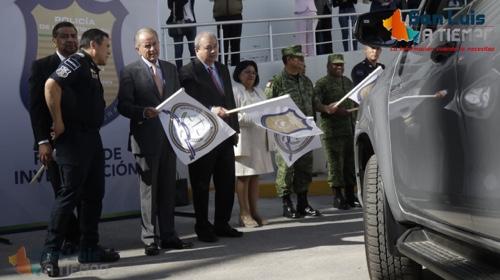 Entregó la Fiscalía 36 reconocimientos y 23 vehículos a la Policía de Investigación