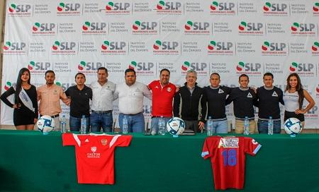 La Liga Potosina de Futbol presentó la final de su Categoría Estelar