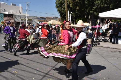 El desfile de la Revolución Mexicana en Soledad, toda una fiesta cívica