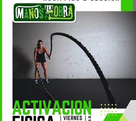 Este viernes habrá activación física en la Unidad Deportiva Hogares Ferrocarrileros Segunda Sección