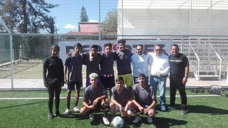 """Deportivo H.C., campeones del cuadrangular de fútbol uruguayo del programa """"Manos a la obra en la colonia San Luis de Soledad de GS"""