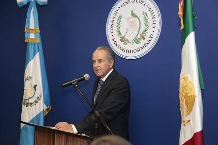 Primera dama de Guatemala reconoce cooperación de gobierno de JM Carreras en asuntos migratorios