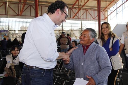 """Entrega """"En Son de Paz"""" 290 apoyos en Plan Ponciano Arriaga"""