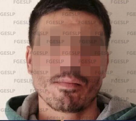 En Matehuala FGE aseguró a un hombre señalado por presunto robo domiciliario