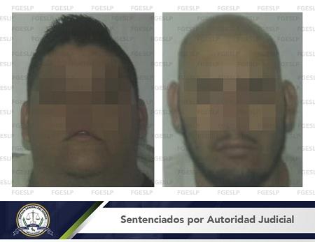 Fiscalía obtiene sentencia de 50 años de prisión para dos secuestradores de SLP