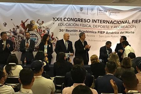 Se realizó la ceremonia de clausura del XXII Congreso Internacional de la FIEP