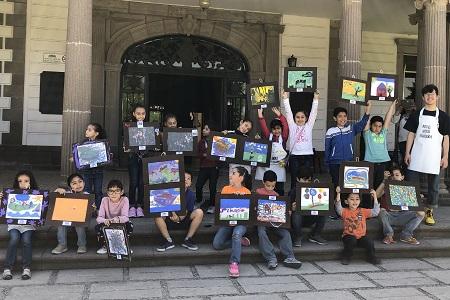 Actividad Infantil en el Museo Francisco Cossío