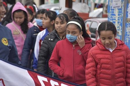 Refuerzan filtros escolares en Soledad, para evitar contagios de enfermedades respiratorias