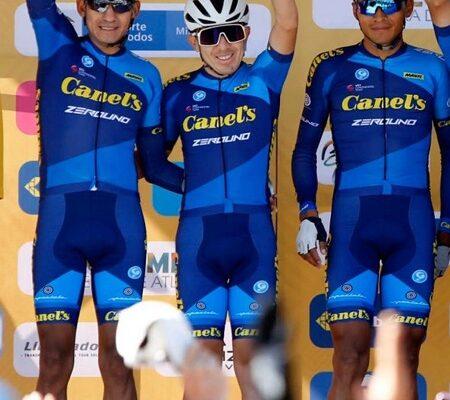 Rosales y Ordoñez de Canel´s-Zerouno destacan en etapa tres Tour Colombia 2.1.