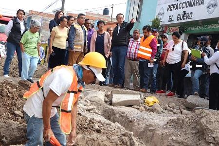 Avanzan obras municipales de alto impacto social