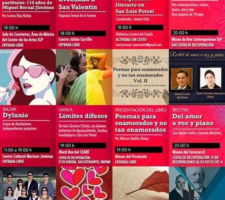 Qué hacer este viernes 14 de febrero en San Luis Potosí
