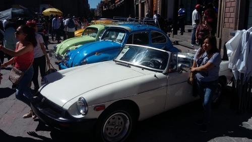 Gran éxito del Día del Automóvil Antiguo